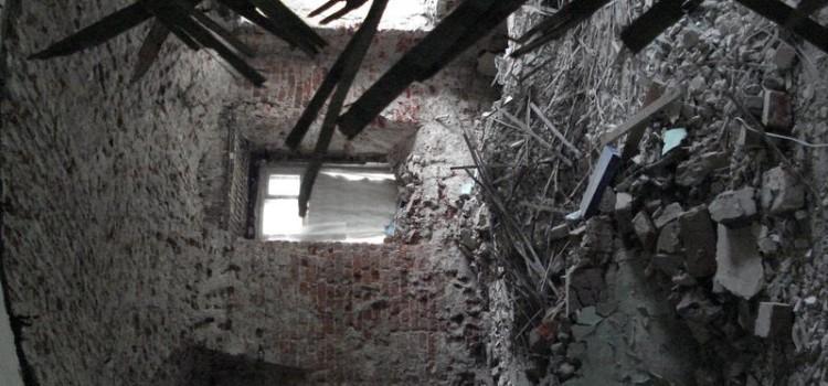 Состояние сестринского корпуса на начало ремонтно-реставрационных работ
